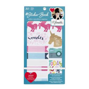 American Crafts Shimelle Sticker Book