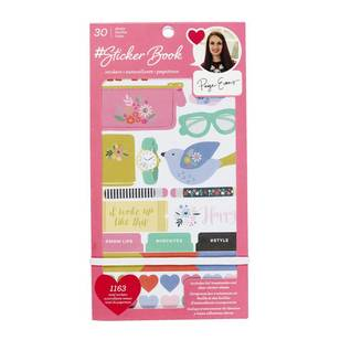 American Crafts Paige Evans Sticker Book