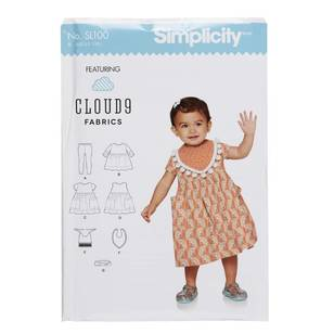 Simplicity SL100 Girls Outfit Pattern