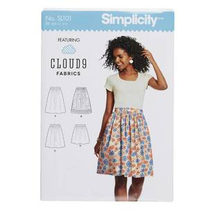 Simplicity SL101 Misses Skirt Pattern