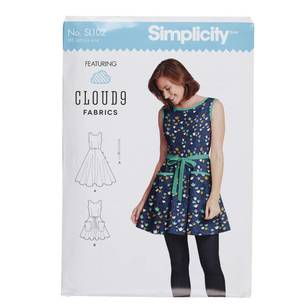 Simplicity SL102 Misses Wrap Dress Pattern
