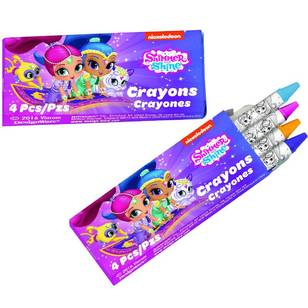 Amscan Shimmer & Shine Mini Crayon Favours 12 Pack