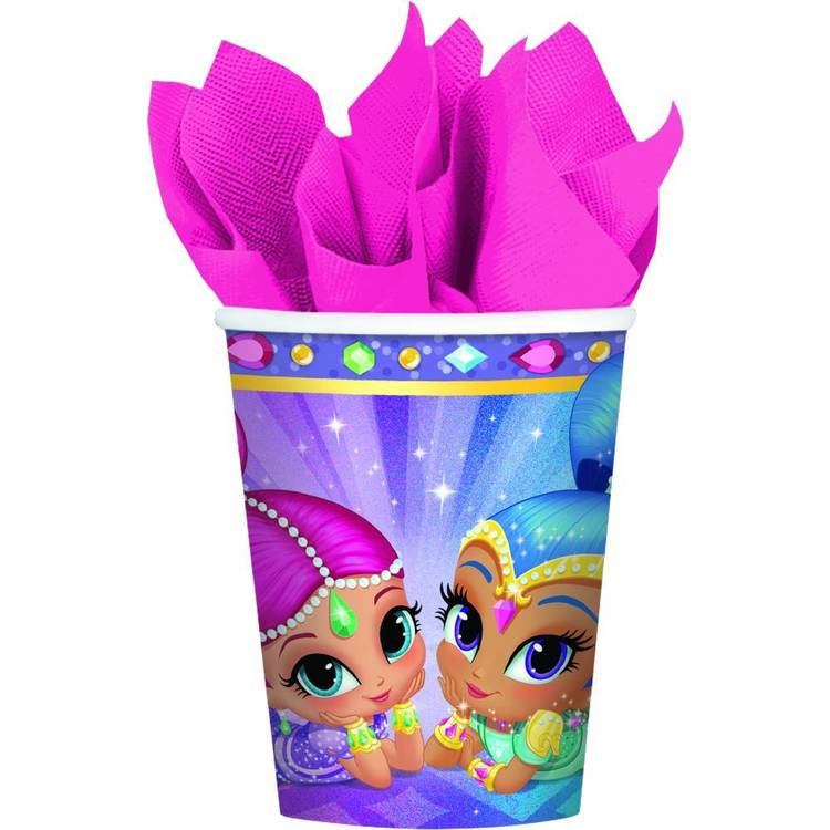 Amscan Shimmer & Shine Cups 8 Pack