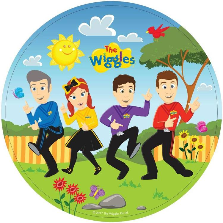 The Wiggles Plates 8 Pack