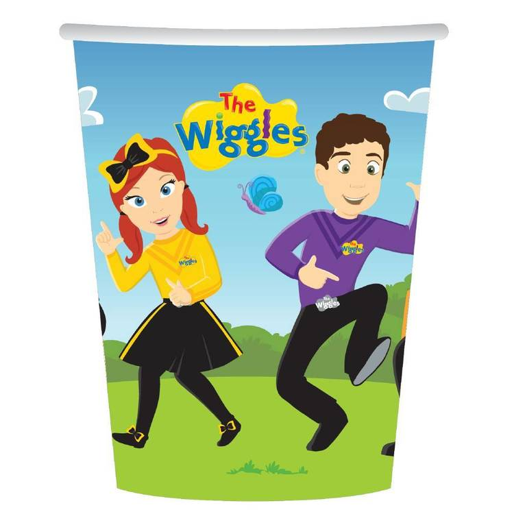 The Wiggles Cups 8 Pack