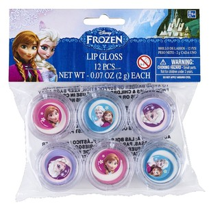 Disney Frozen Lip Gloss Favours 12 Pack