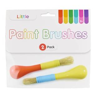 Little 2 Pack Paint Brushes