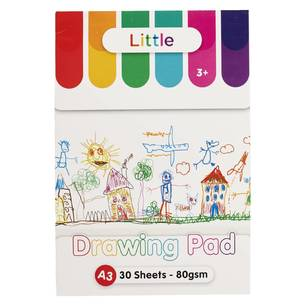 Little A3 80 gsm Drawing Pad