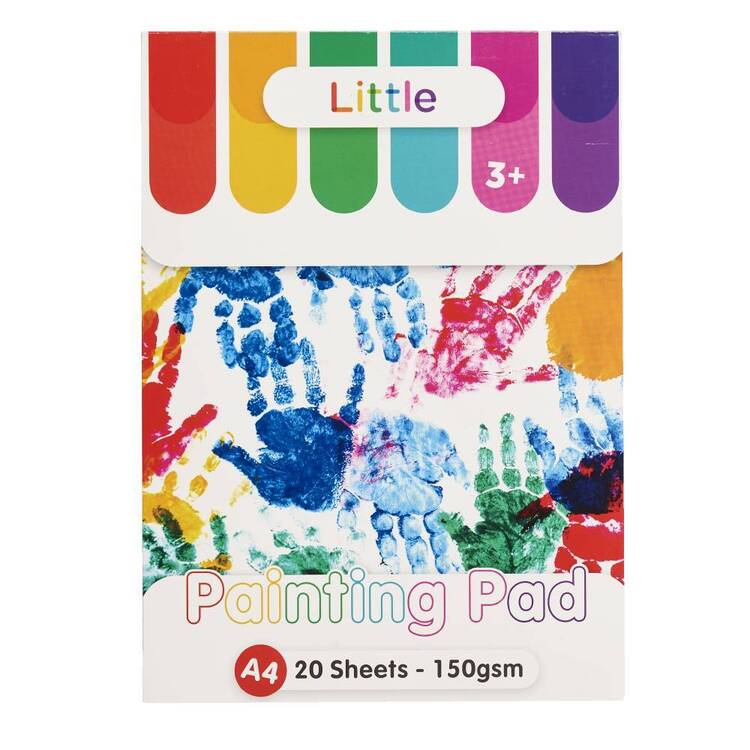 Little A4 150 gsm Painting Pad White A4