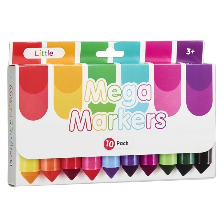 Little 10 Pack Mega Markers