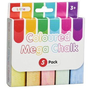 Little 5 Pack Mega Chalk