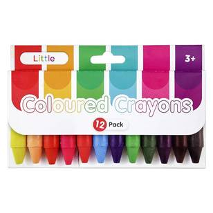 Little 12 Pack Crayons