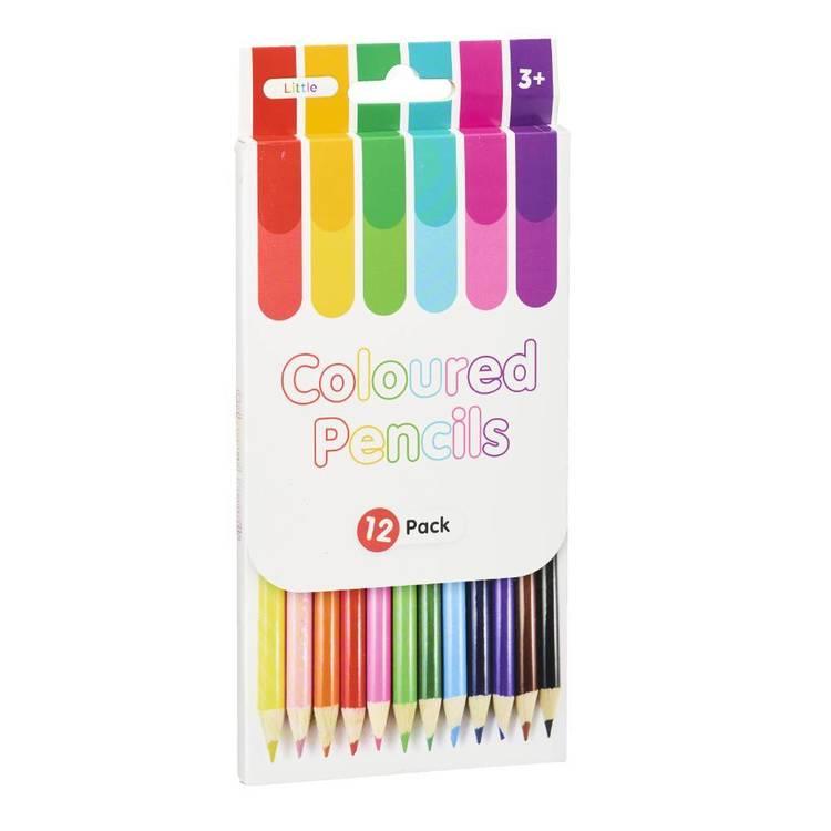 Little 12 Pack Coloured Pencils