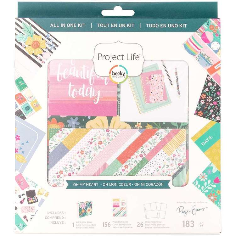 Project Life All-in-One Oh My Heart Kit