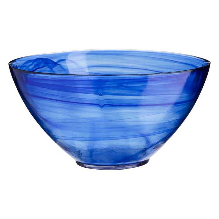 Casa Domani Cirrus Glass Deep Salad Bowl