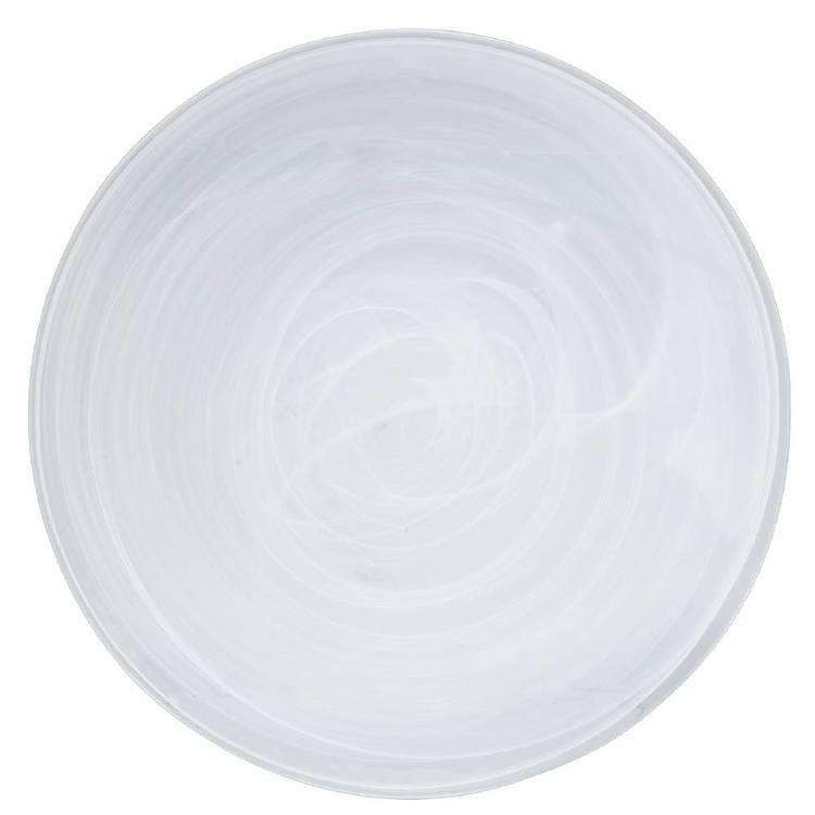 Casa Domani Cirrus Glass Round Platter