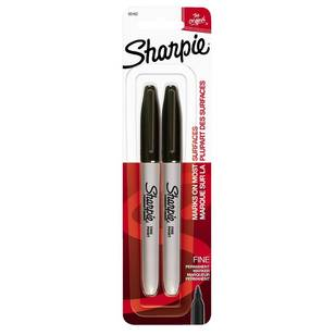 Sharpie Fine Black 2 Pack
