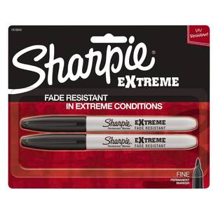 Sharpie Fine Extreme Black 2 pack