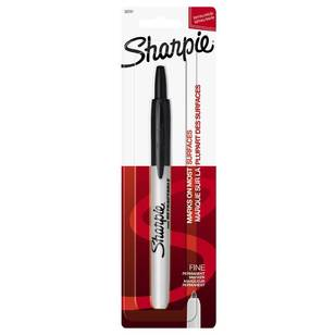Sharpie Black Retractable Marker