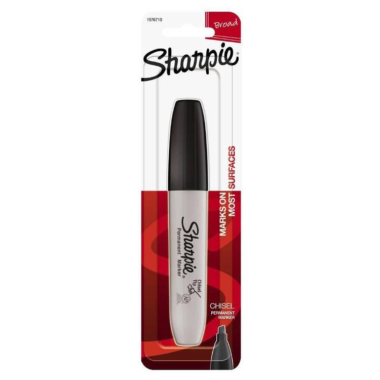 Sharpie Black Chisel