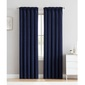 KOO Baydon Pencil Pleat Curtain Navy
