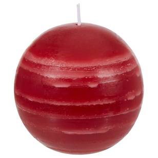 Bouclair Refined Red Red Ball Candle