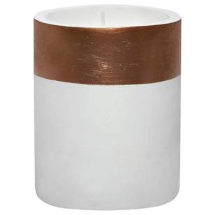Bouclair Refined Red Cement Candle