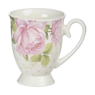 Kitch & Co Garden Pink Rose Mug