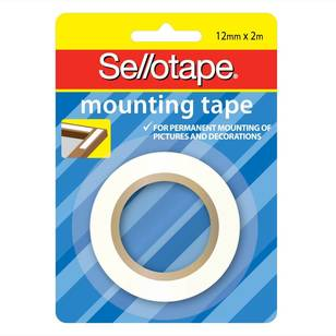 Sellotape Foam Mounting Tape