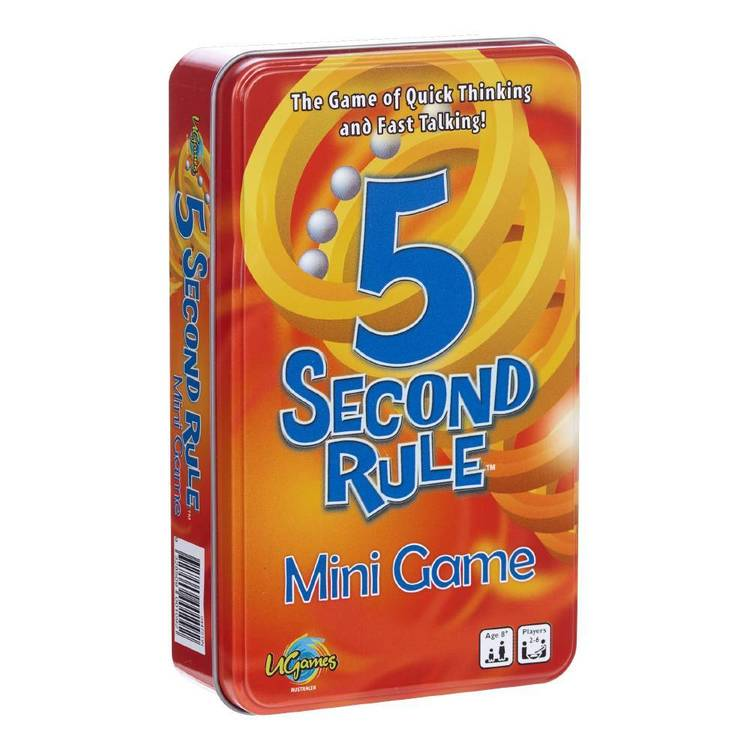 5 Second Rule Novelty Tin