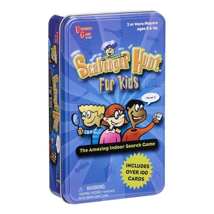 Scavenger Hunt For Kids Novelty Tin