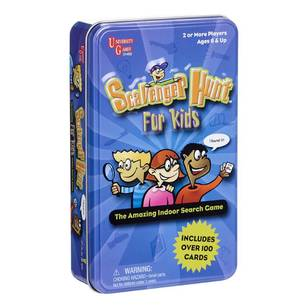 Scavenger Hunt For Kids Novelty Tin