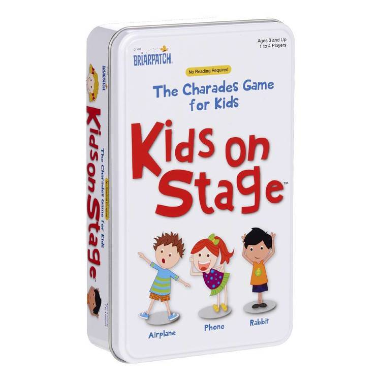 Charades Kids On Stage Novelty Tin