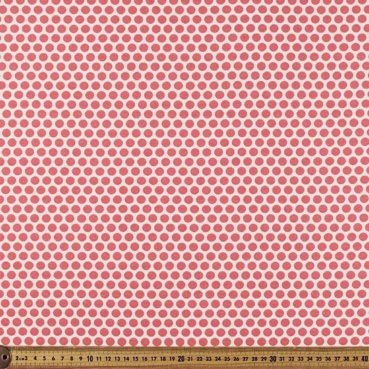 Dots #2 Printed Birch 100% Organic Cotton Fabric