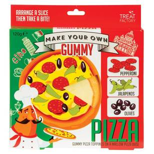 Treat Factory Make Your Own Gummy Pizza