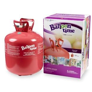 Amscan Balloon Time Helium Cylinder - Jumbo