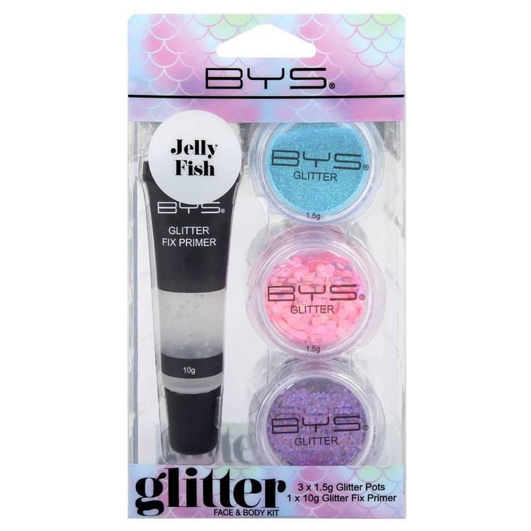BYS Glitter Face & Body Kit Jelly Fish