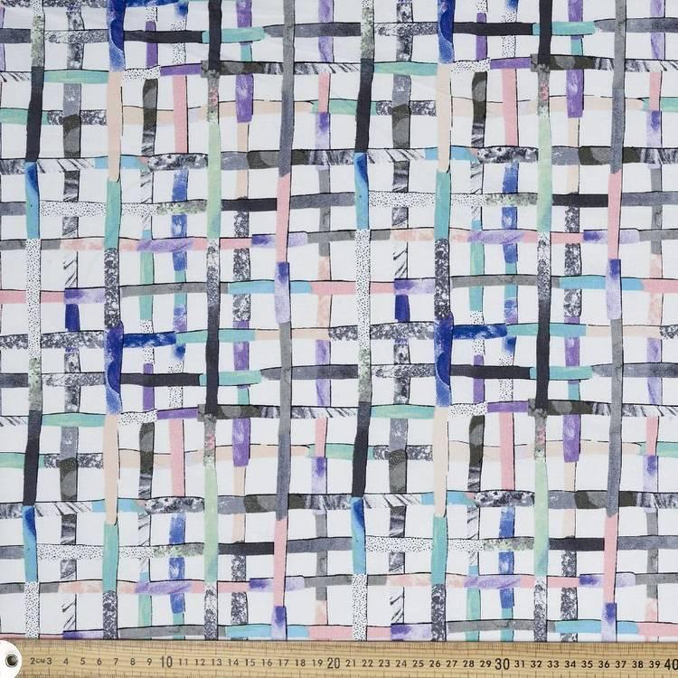 Laura Blythman Check Fabric