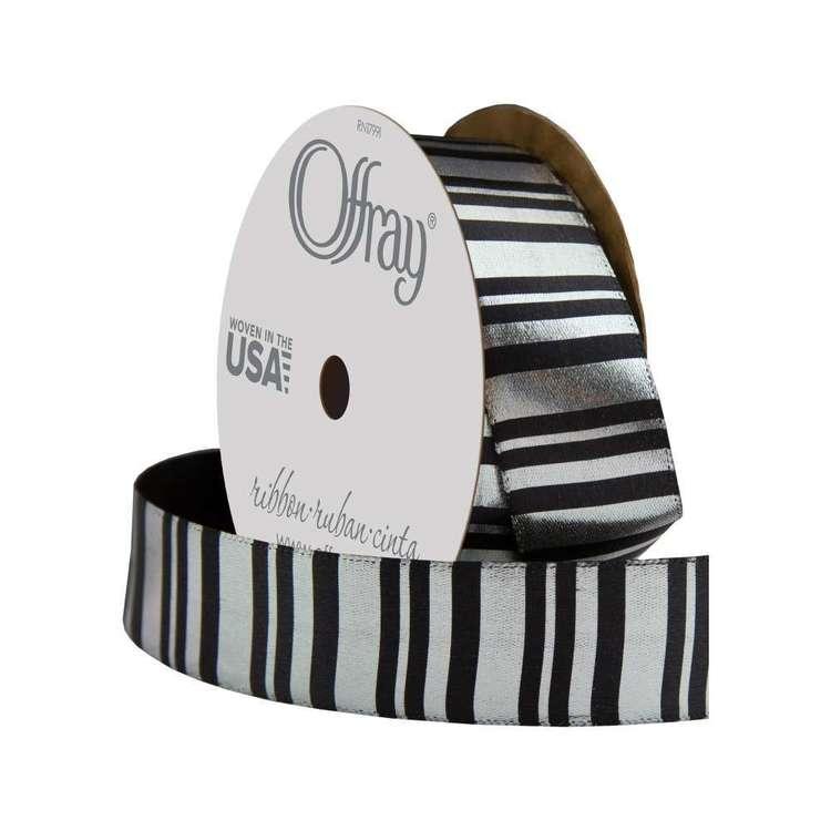 Offray Vertical Stripe Ribbon