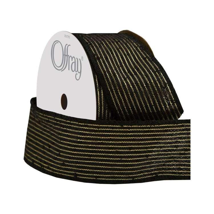 Offray Damask Stripe Ribbon