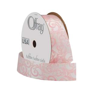 Offray Pastel Scroll Ribbon