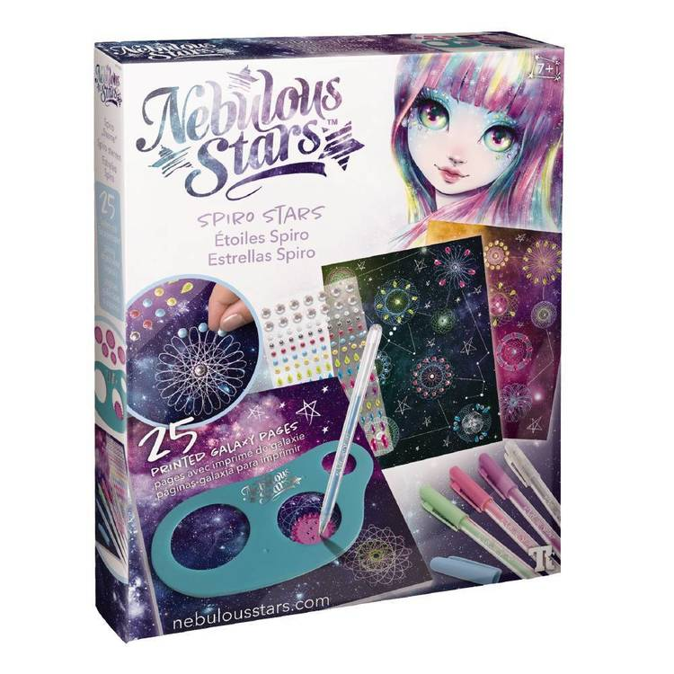 Nebulous Stars Spiro Stars