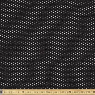 Printed Rayon Small Spot Fabric