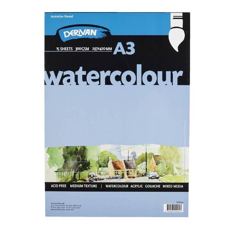 Derivan A3 Watercolour Pad
