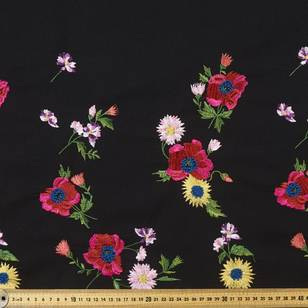 Folk Embroidered Canvas