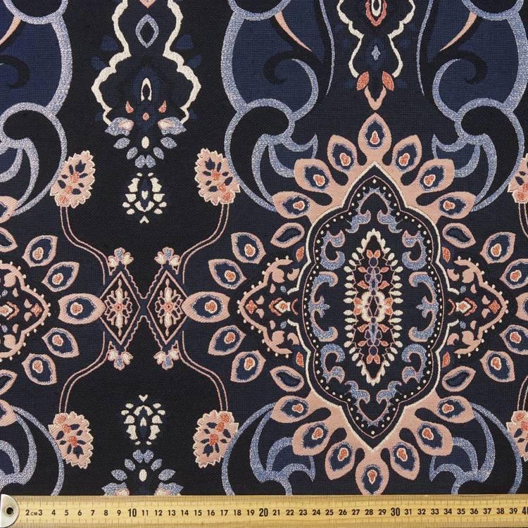 Jacquard Motif Lurex Fabric