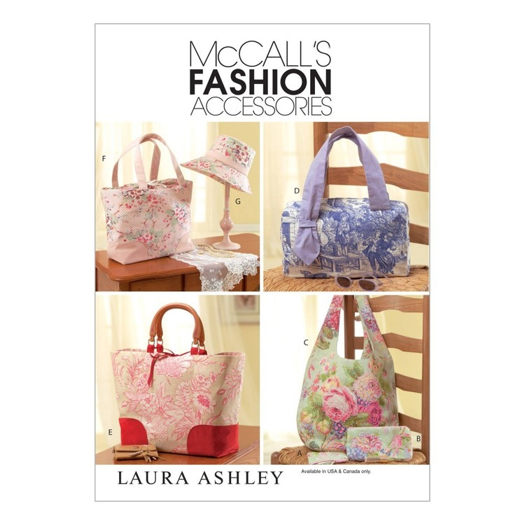 McCall's Pattern M4400 Handbags