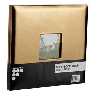 Francheville Gold Scrapbook Album