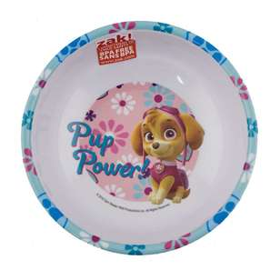 Paw Patrol Girls Melamine Bowl