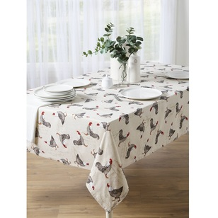 Mode Rooster Print Tablecloth